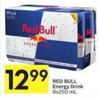 Red Bull Energy Drink 8x250 mL