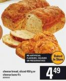 Cheese Bread - Sliced - 450 G Or Cheese - Buns 4's