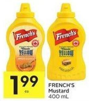French's Mustard 400 ml