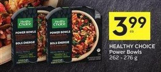 Healthy Choice Power Bowls