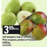 Red Mangoes Or Guava