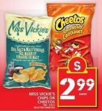 Miss Vickie's Chips Or Cheetos