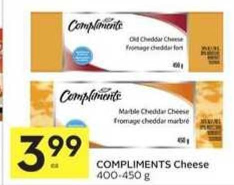 Compliments Cheese
