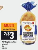 PC English Muffins Original - 6's