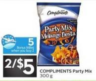 Compliments Party Mix Pantry - 5 Air Miles Bonus Miles