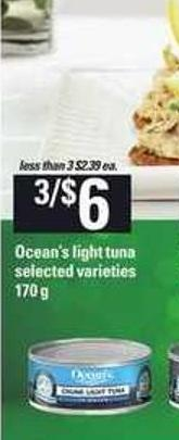 Ocean's Light Tuna - 170 g