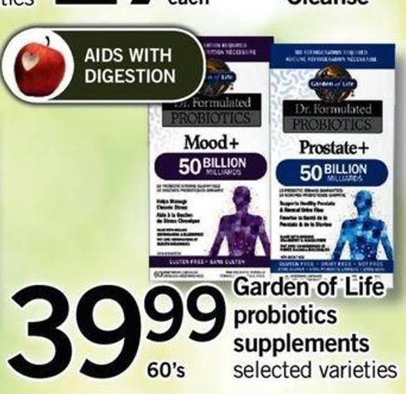 Garden Of Life Probiotics Supplements