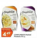 Compliments Mashed Potatoes 680 g