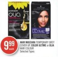 Hair Mascara Temporary Grey Cover Up - Color Ultîme or Olia Hair Colour
