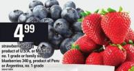 Strawberries - 454 G Or Blueberries - 340 G