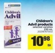 Children's Advil Products - 230 mL