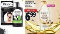 Jergens Lotion & Bior' Facial Care
