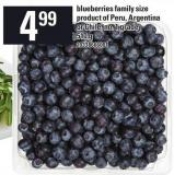 Blueberries Family Size - 510 g