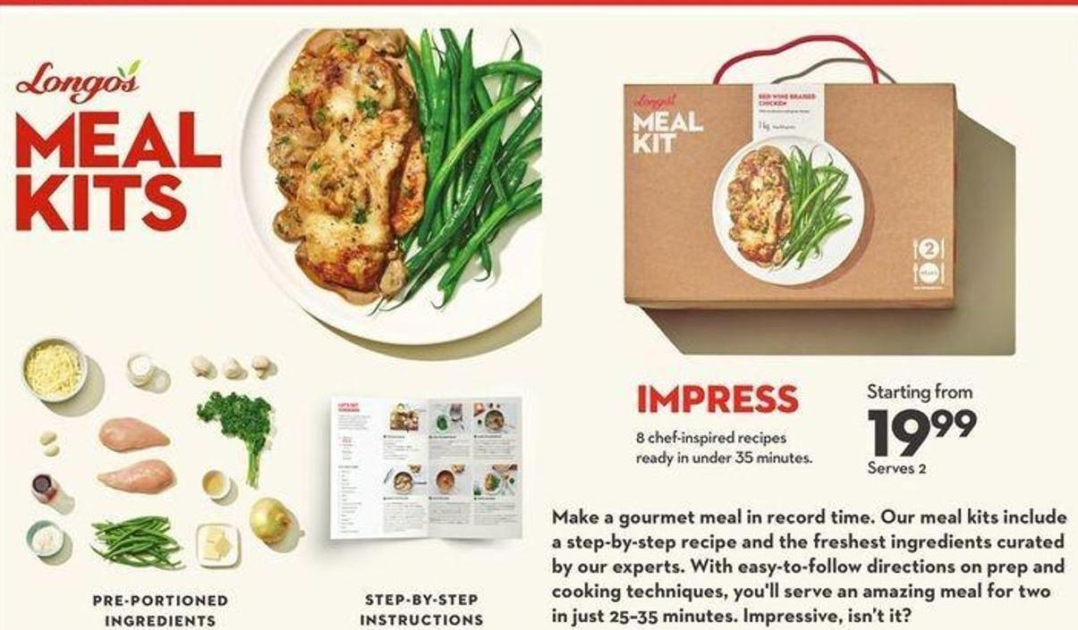 Longo's Meal Kits