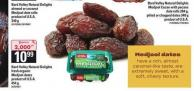 Bard Valley Natural Delights Fresh Organic Medjool Dates - 454 g