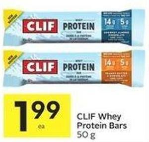 Clif Whey Protein Bars
