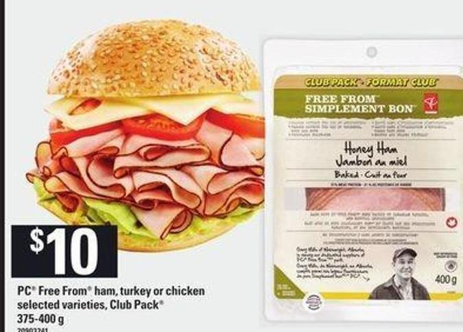 PC Free From Ham - Turkey Or Chicken - 375-400 g