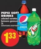 Pepsi Soft Drinks - 2l