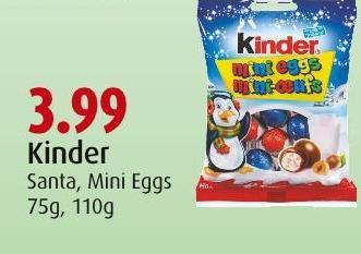 Kinder Santa - Mini Eggs 75g - 110g