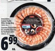 Irresistibles Cooked Pacific White Shrimp Ring