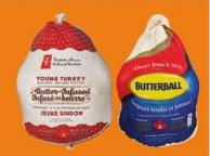 PC Frozen Turkeys Butter-infused Or Butterball Frozen Turkeys - 7-9 Kg
