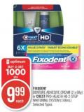 Fixodent Denture Adhesive Cream (2 X 68g) or Crest Pro-health Hd 2-step Whitening System (148ml)