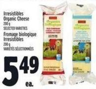 Irresistibles Organic Cheese