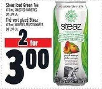 Steaz Iced Green Tea