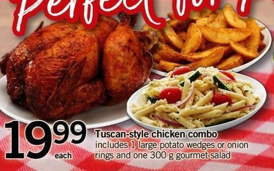 Tuscan-style Chicken Combo