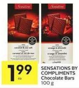 Sensations By Compliments Chocolate Bars