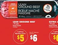 Lean Ground Beef - 1 Lb Tube