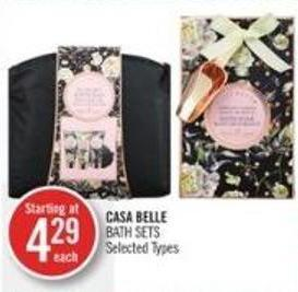 Casa Belle Bath Sets