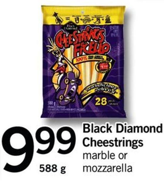 Black Diamond Cheestrings - 588 G
