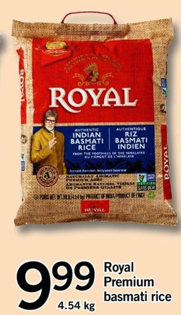 Royal Premium Basmati Rice