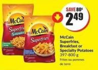 Mccain Superfries - Breakfast or Specialty Potatoes 397-800 g