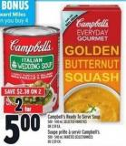 Campbell's Ready To Serve Soup 500 - 540 ml