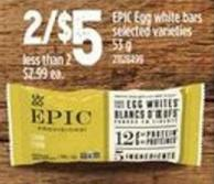 Epic Egg White Bars - 53 g