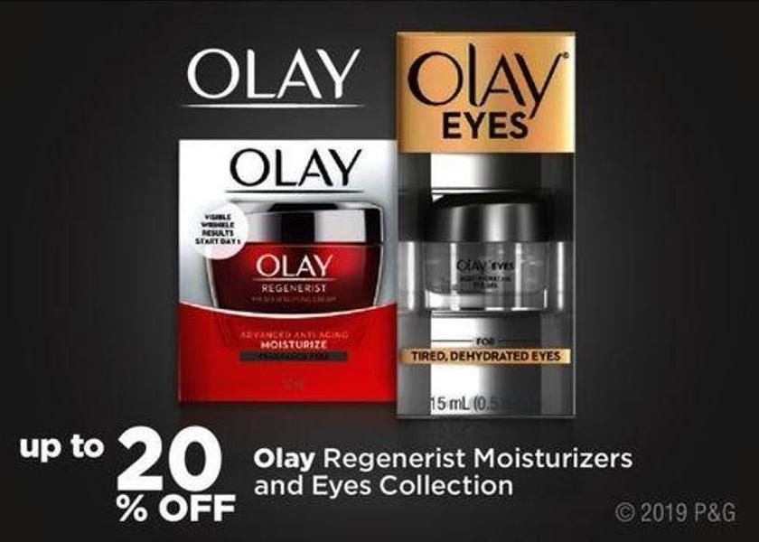 Olay Regenerist Moisturizers And Eyes Collection