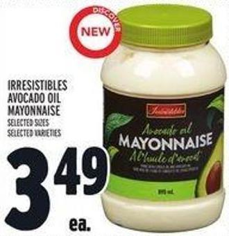 Irresistibles Avocado Oil Mayonnaise