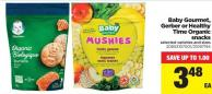 Baby Gourmet - Gerber Or Healthy Time Organic Snacks