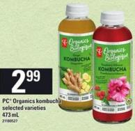 PC Organics Kombucha - 473 Ml
