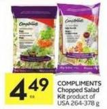 Compliments Chopped Salad Kit