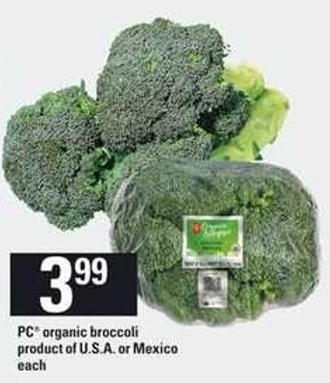 PC Organic Broccoli