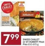 Swiss Chalet or St-hubert Meat Pies 650-815 g