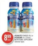 Pedialyte Powder (8's) or Pediasure (4 X 235ml) Nutritional Supplement