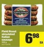 Field Roast Simulated Italian Sausage - 368 g