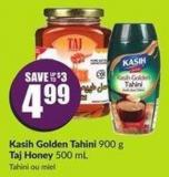 Kasih Golden Tahini 900 g Taj Honey 500 mL