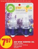 Air Wick Scented Oil - 2x20/21 mL or 13-42 mL