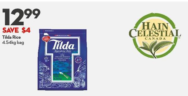 Tilda Rice  4.54kg Bag