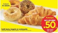 Bulk Buns - Bagels Or Croissants